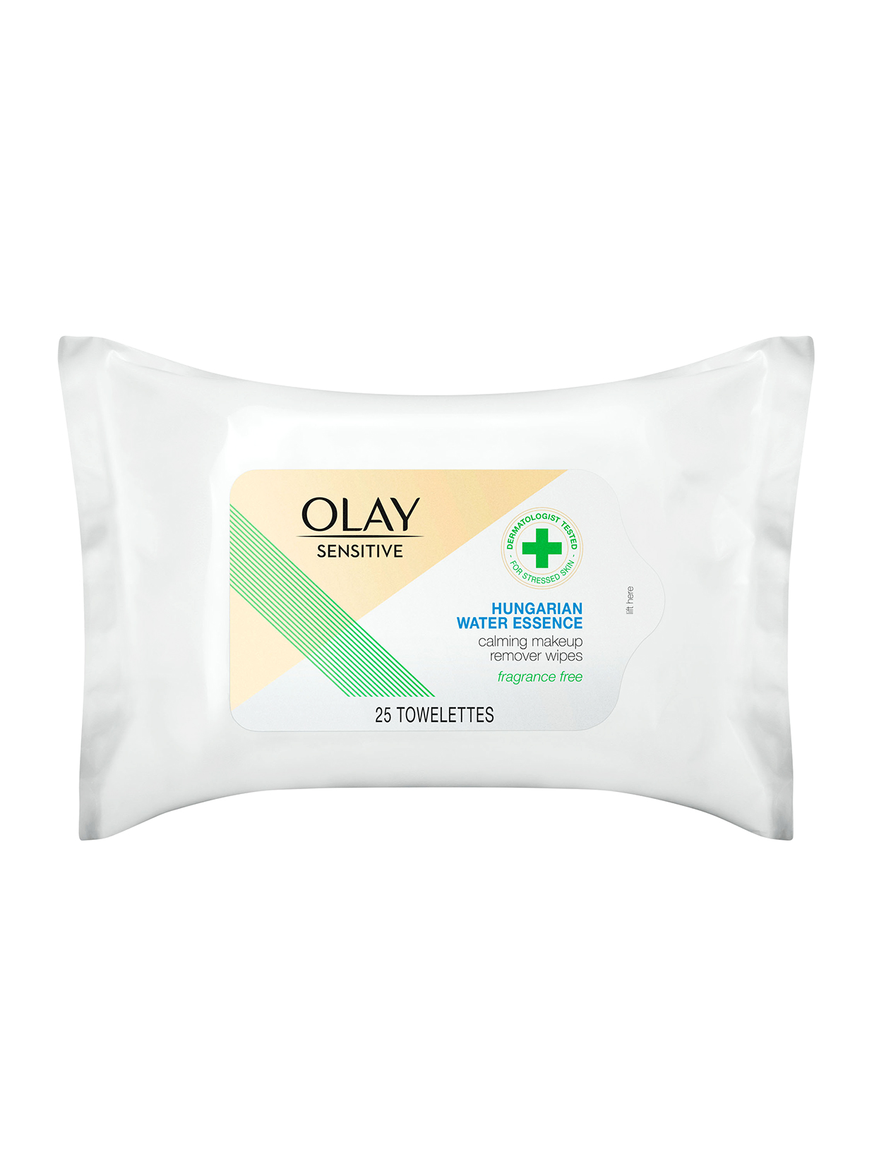 olay calming makeup remover wipes