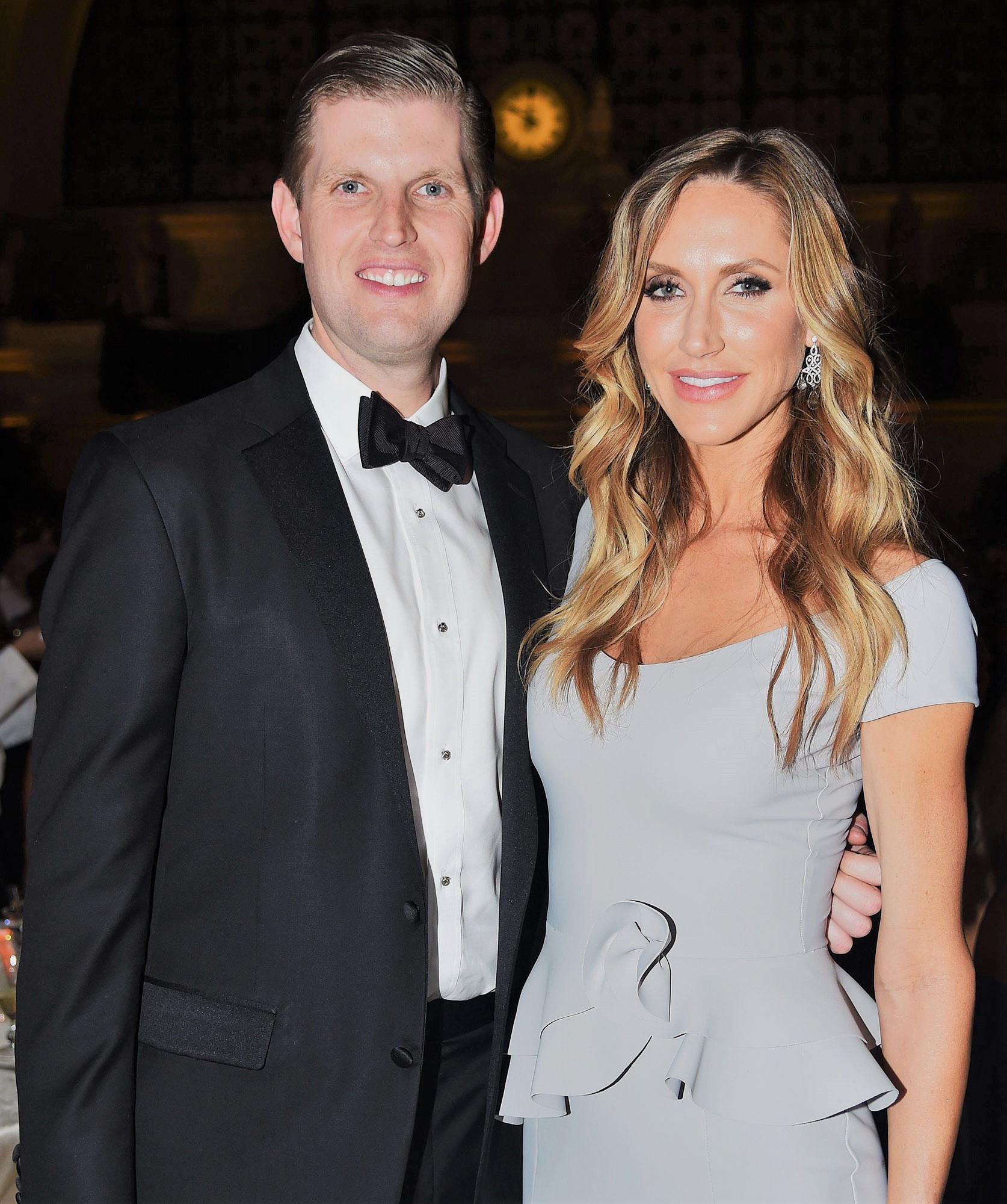 Eric Trump and Lara Yunaska Trump Candlelight dinner