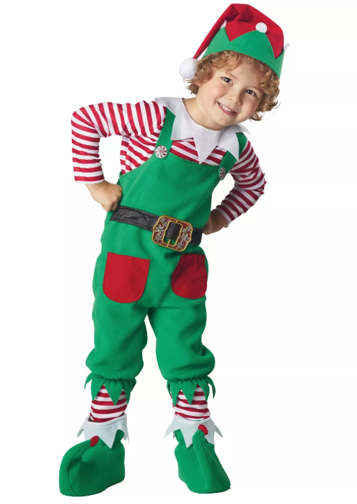 Elf Toddler Halloween Costume