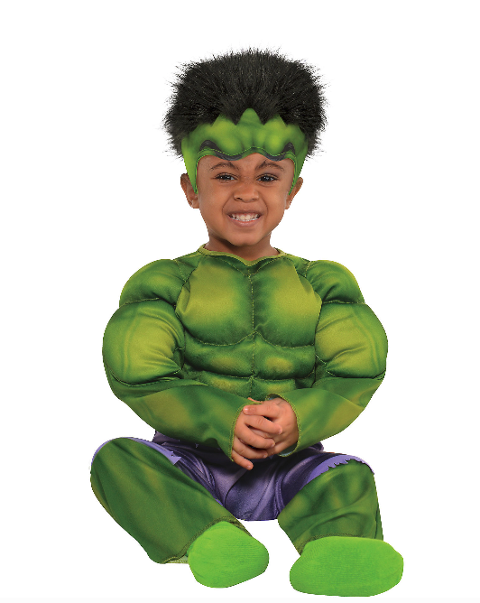 Incredible Hulk Toddler Halloween Costume