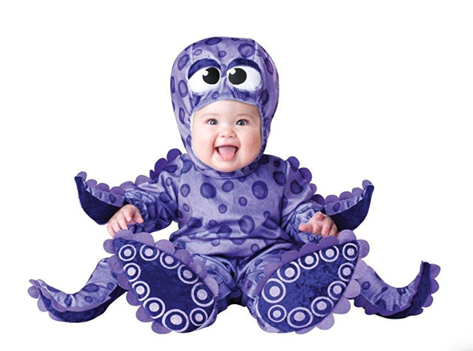 Baby Octopus Halloween Costume