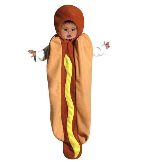 Baby Hot Dog Halloween Costume