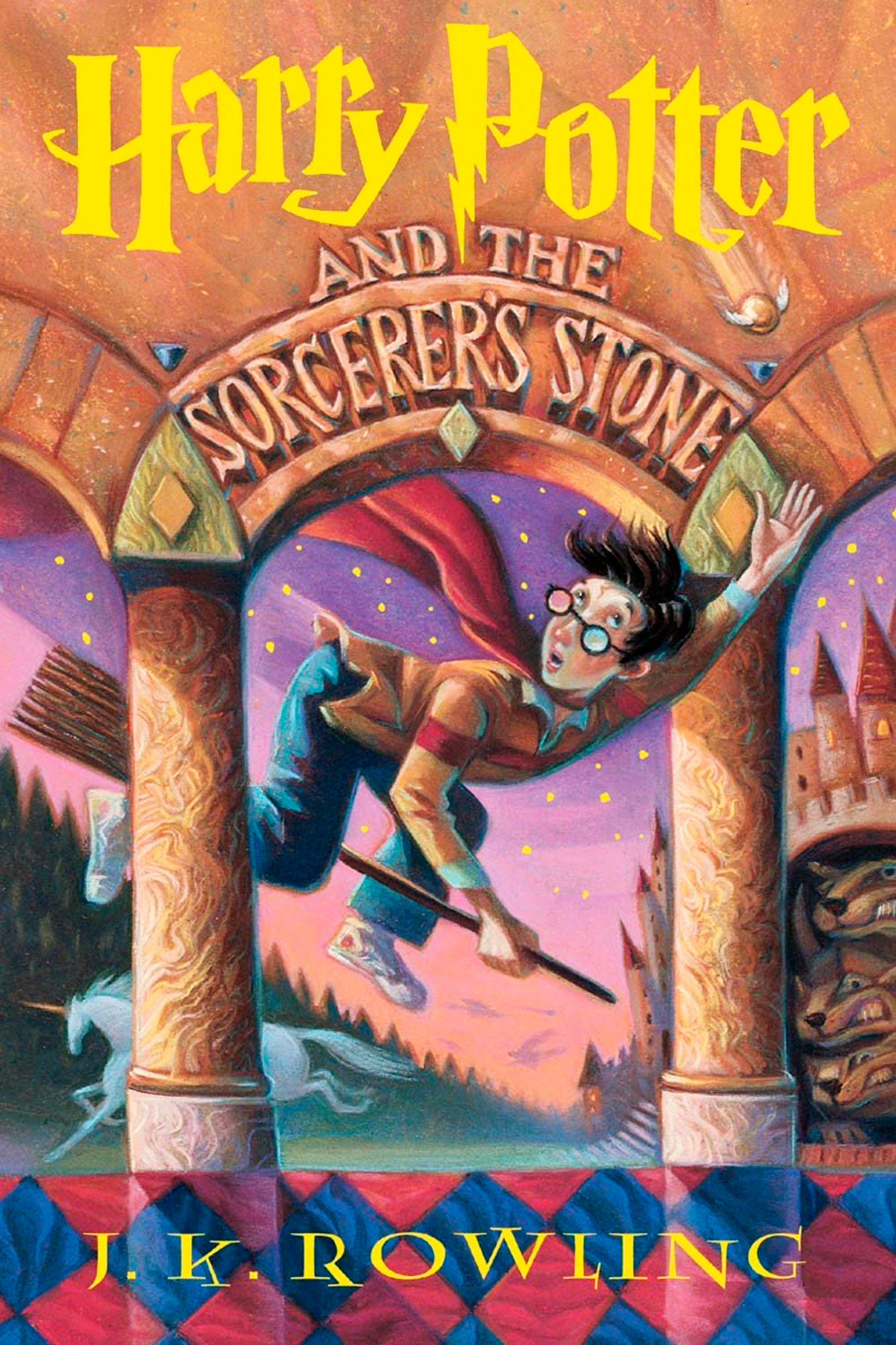 Harry Potter and the Sorcerer's Stone Book One Cover