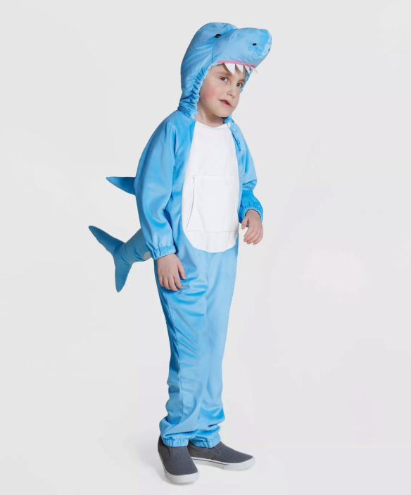 With no tags and flat seams, this adaptive Halloween costume from Target is sensory-friendly. The shark getup is extra comfortable with plush construction, and it also features fins and a hood with detachable teeth. A well-placed flap allows easy access to the abdominal region.