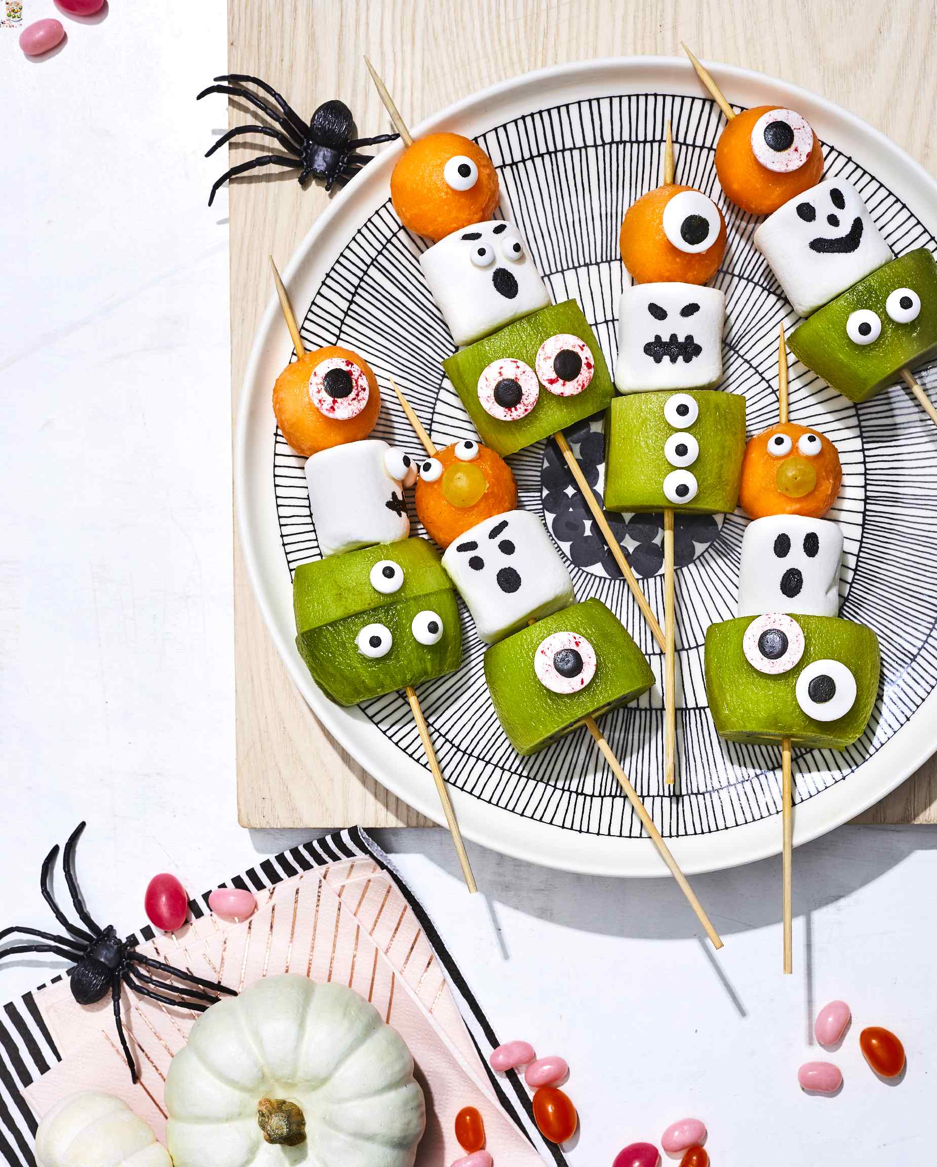 Monster Fruit Skewers
