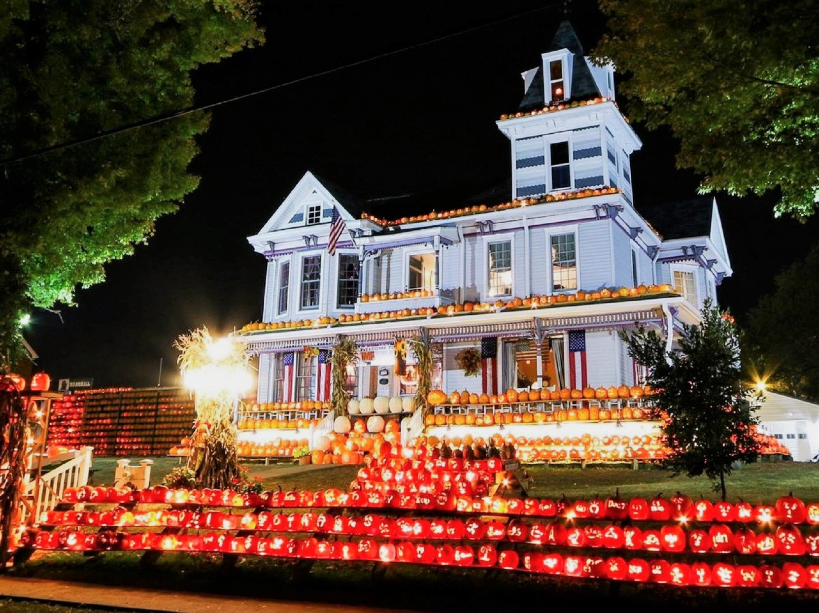 The Kenova Pumpkin House in West Virginia