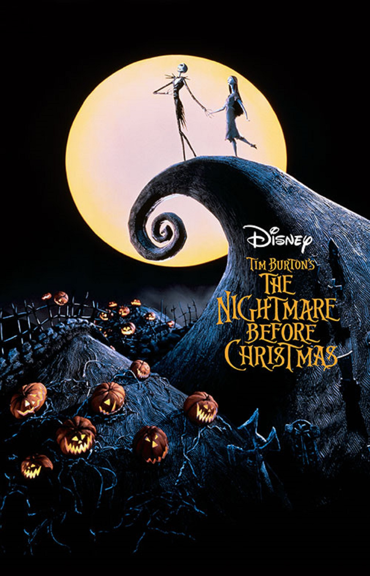1993 The Nightmare Before Christmas Movie Poster