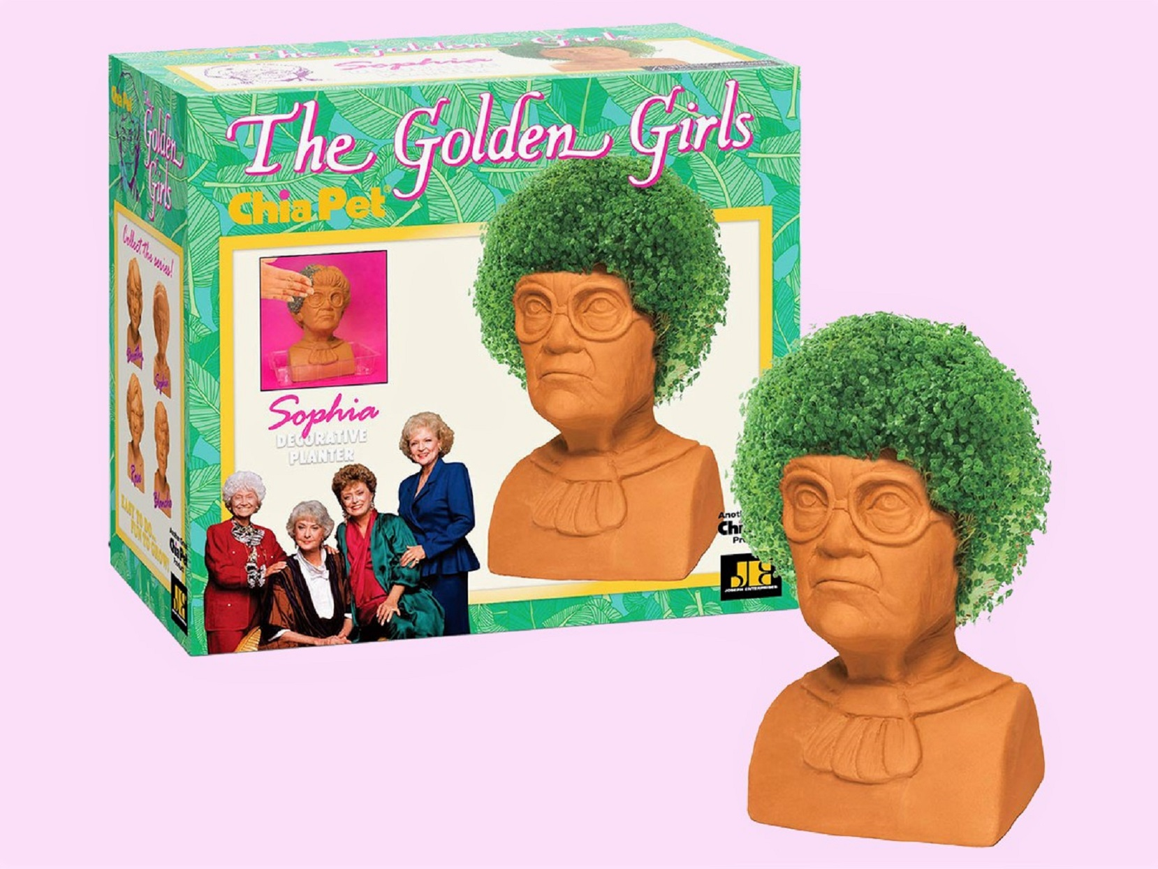 The Golden Girls Chia Pet Sophia