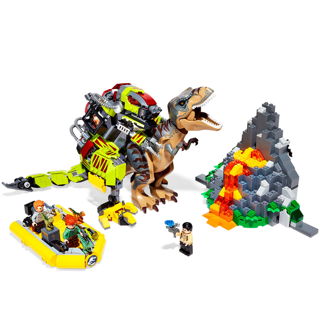 LEGO Jurassic World T. rex vs. Dino-Mech Battle