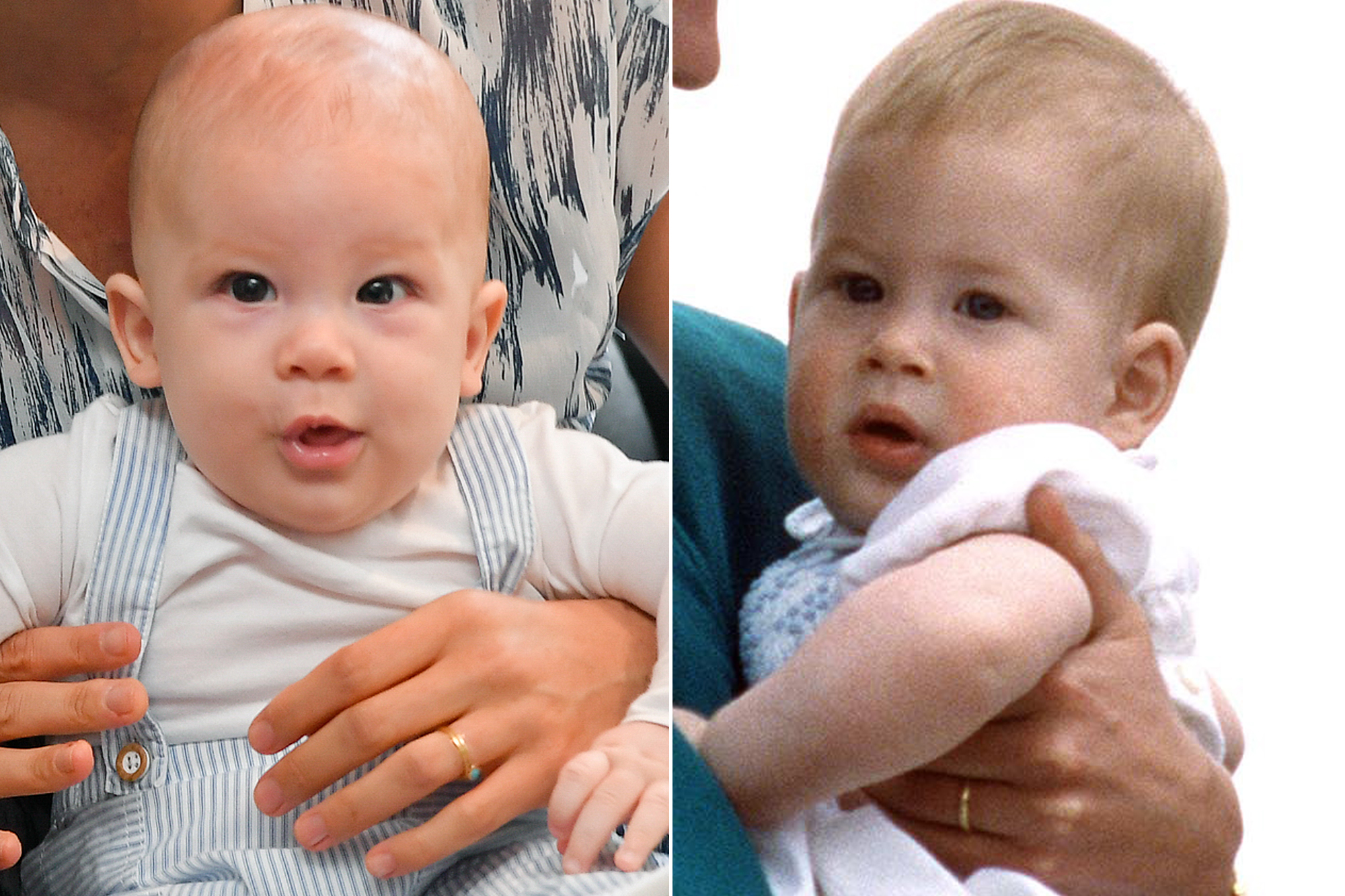 Baby Archie and Baby Prince Harry