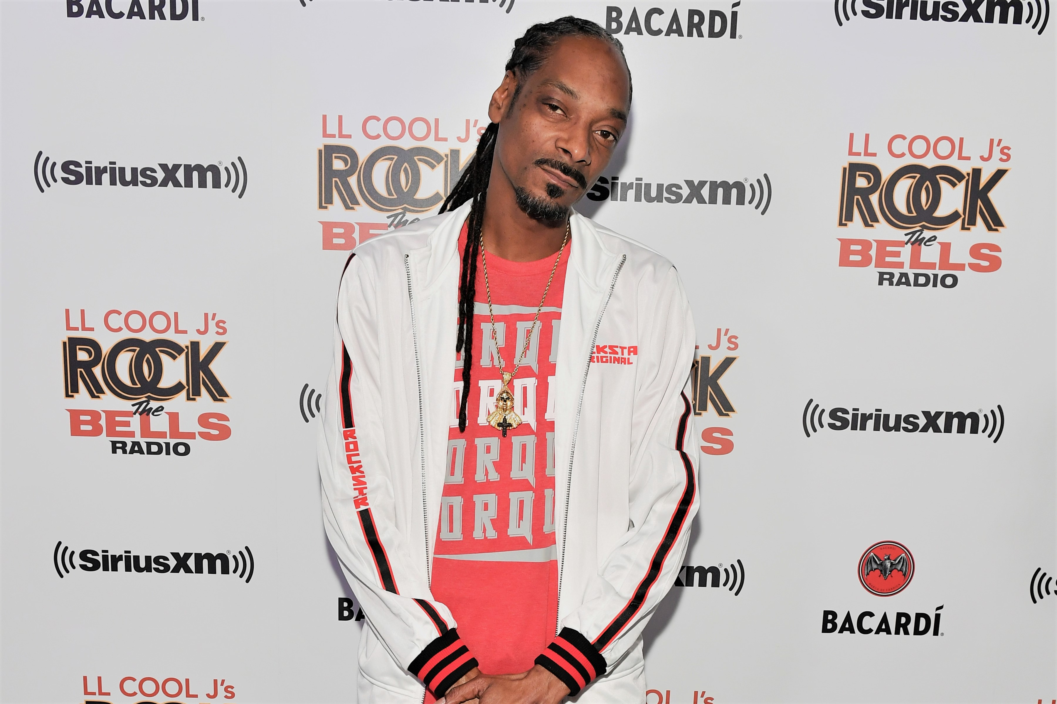 Snoop Dogg at LL COOL J's Rock The Bells Radio Premiere