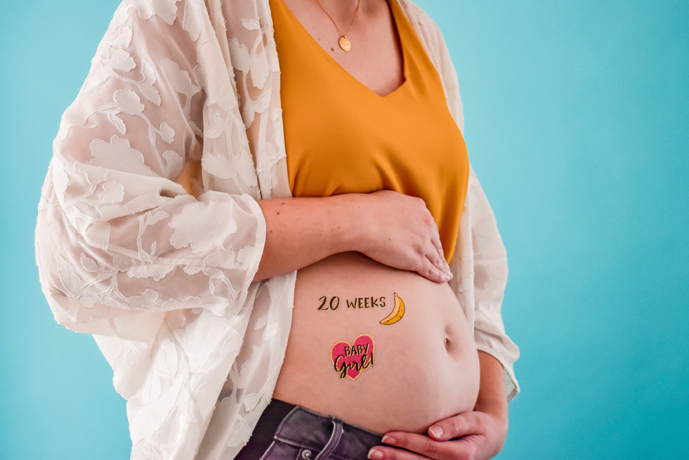 flash tattoos for expectant moms