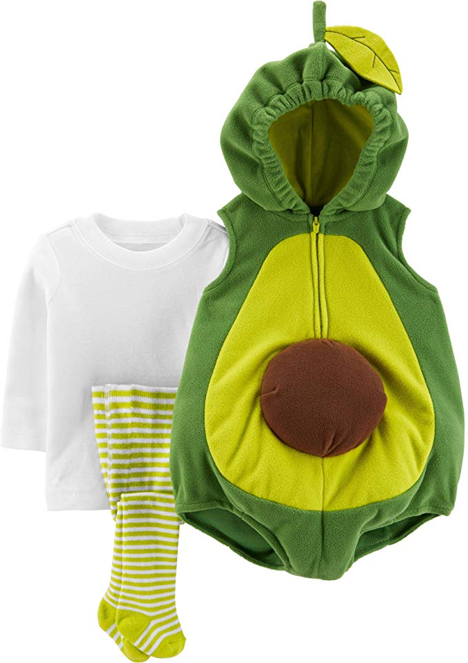 For those of us who can't get enough of our avocado toast, turning your newborn into the fruit with this adorable Carter's set makes perfect sense.