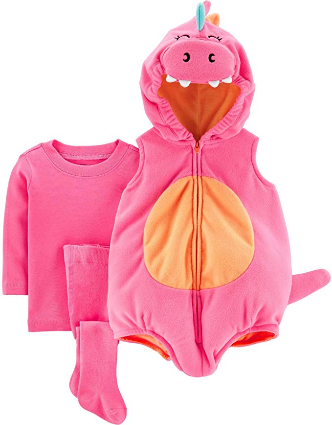 If Game of Thrones or just whimsical creatures are your thing, you might be into this pink dragon costume for your baby.