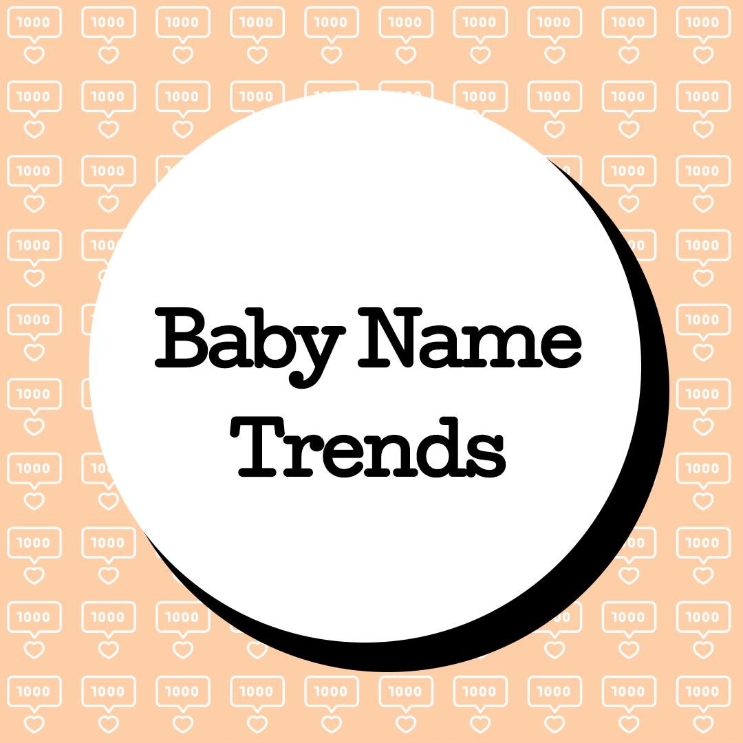 These Are the Most Popular Baby Names of 2020