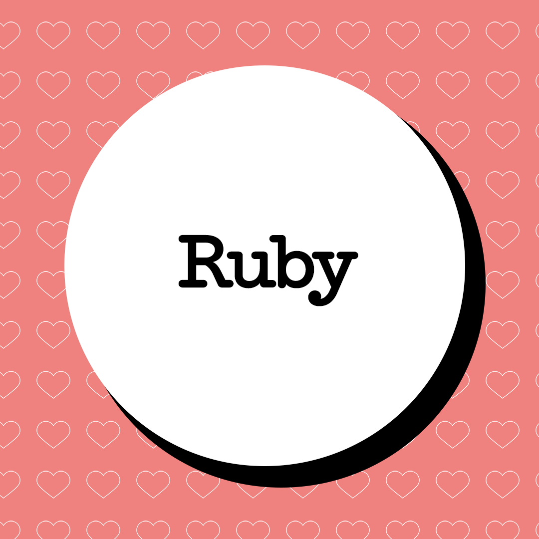 Ruby Baby Name