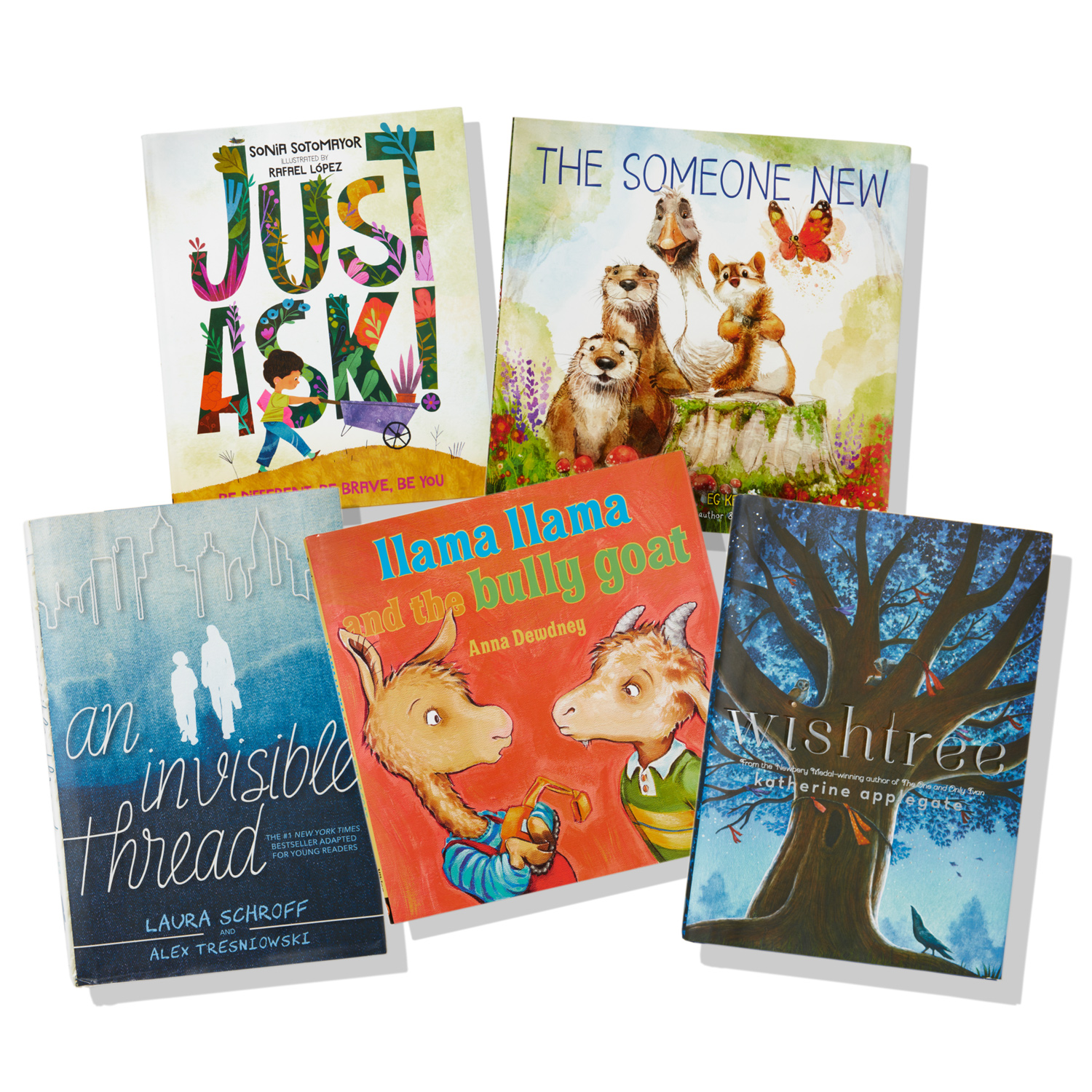 compilation of five different kindness books