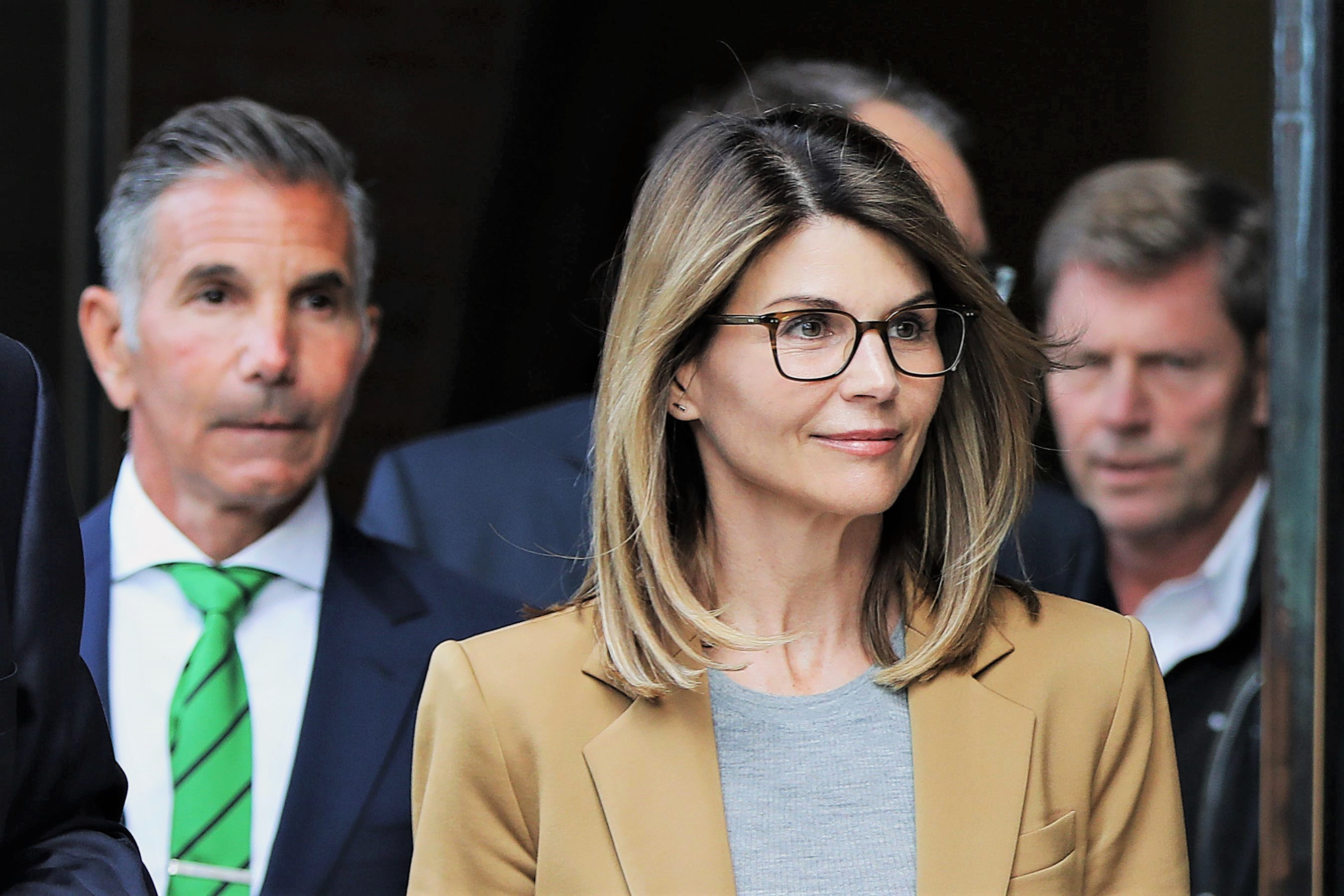 Lori Loughlin and husband Mossimo Giannulli Leaving Court For College Cheating Case