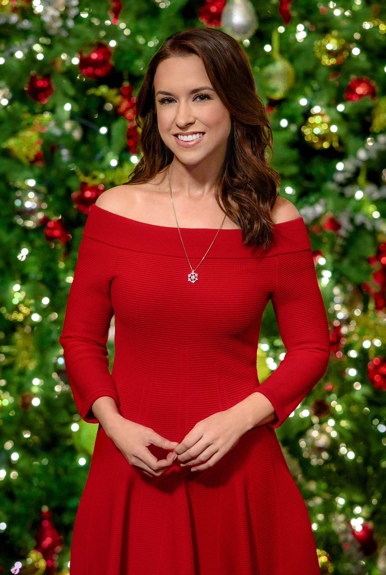 Host Lacey Chabert Hallmark Channel Countdown to Christmas