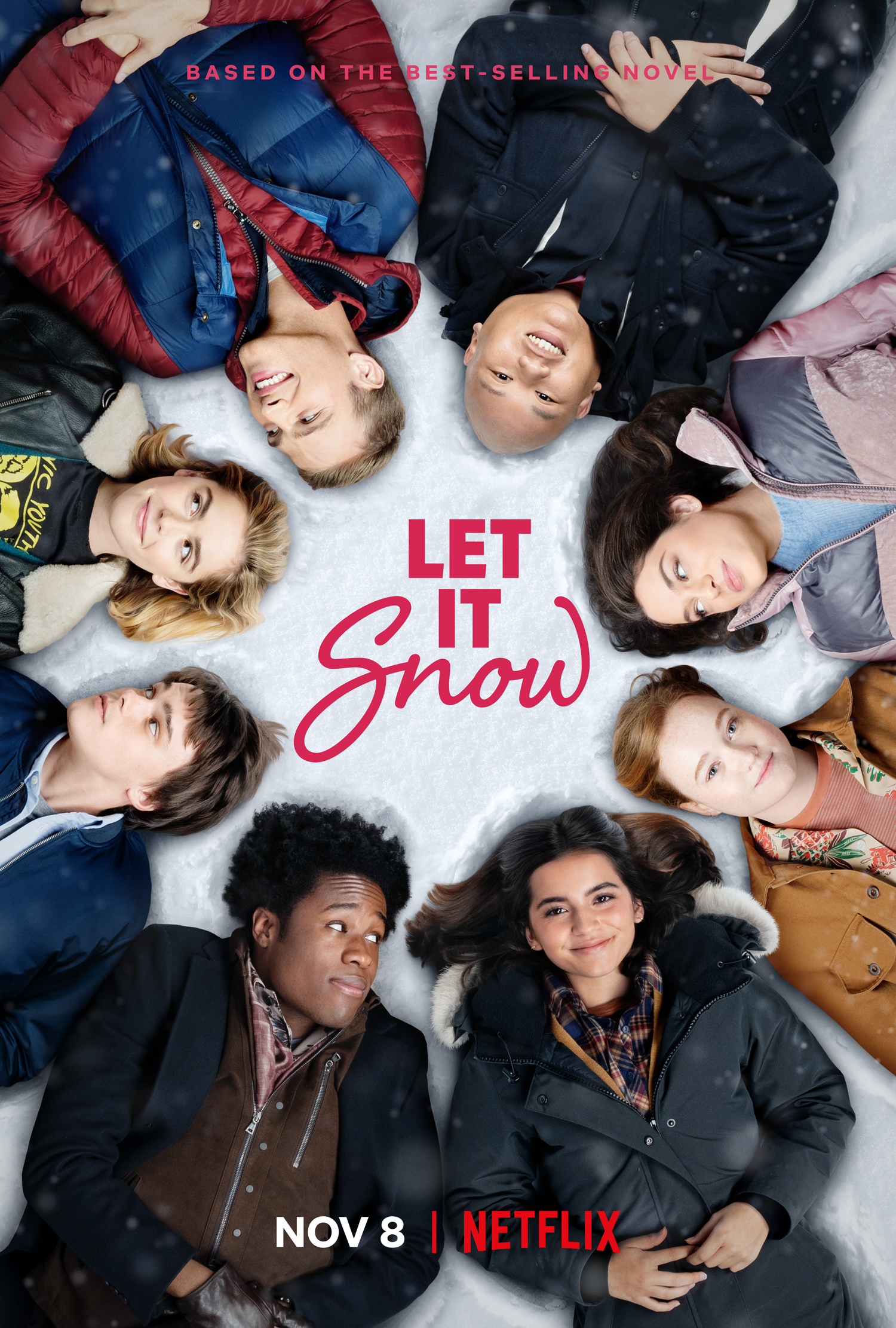 Let It Snow Poster Netflix Movie
