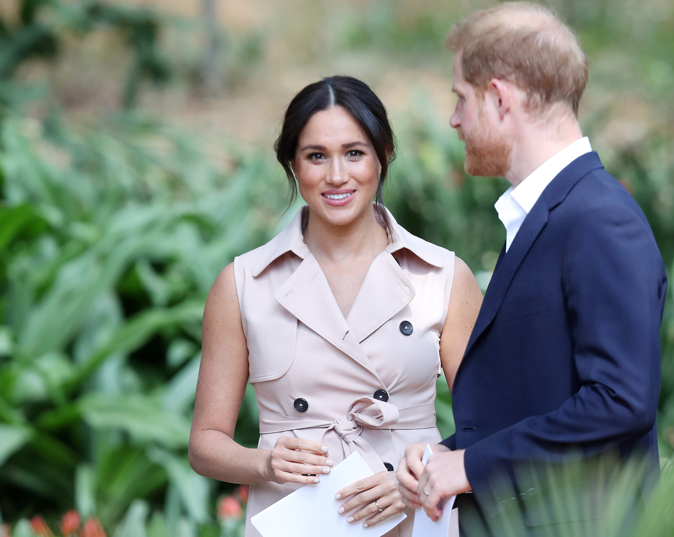 Meghan Markle and Prince Harry The Duke And Duchess Of Sussex Visit Johannesburg
