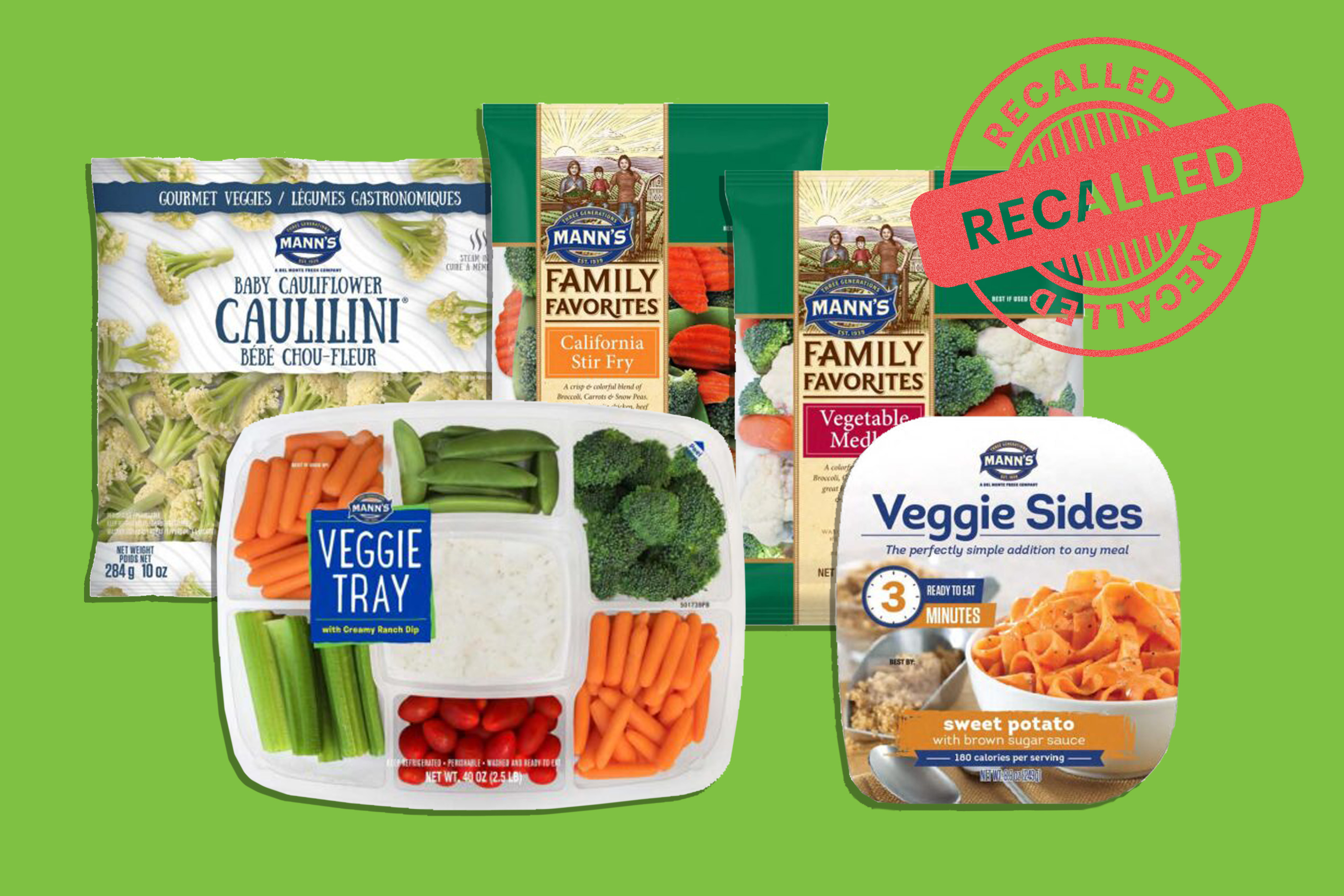 frozen veggies recalled