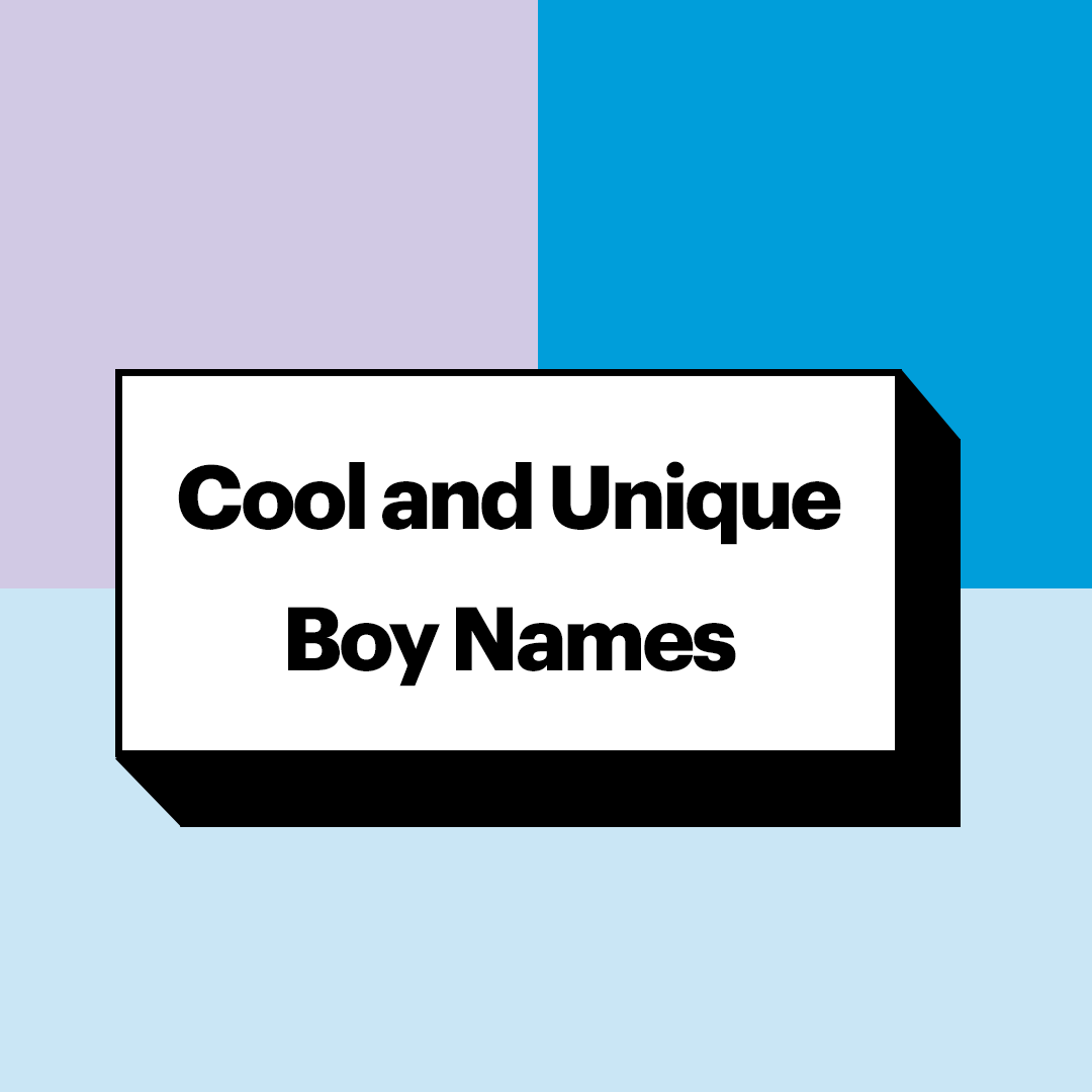 Unique Boy Names