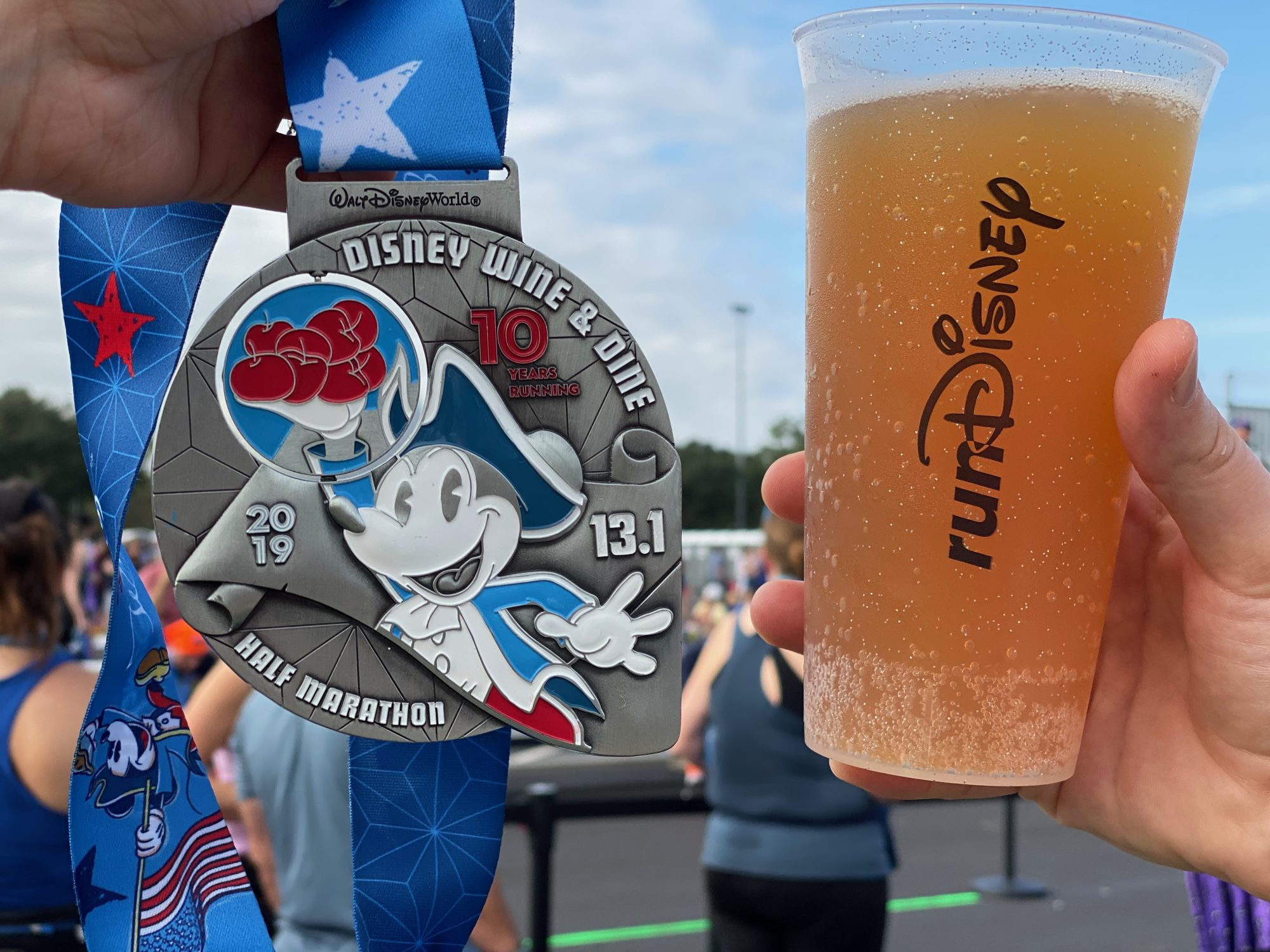 Beer and Medal at Family Reunion Area_photo by Brooke Geiger McDonald