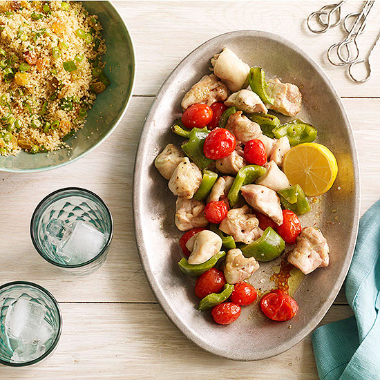 Lemon Chicken Kebobs