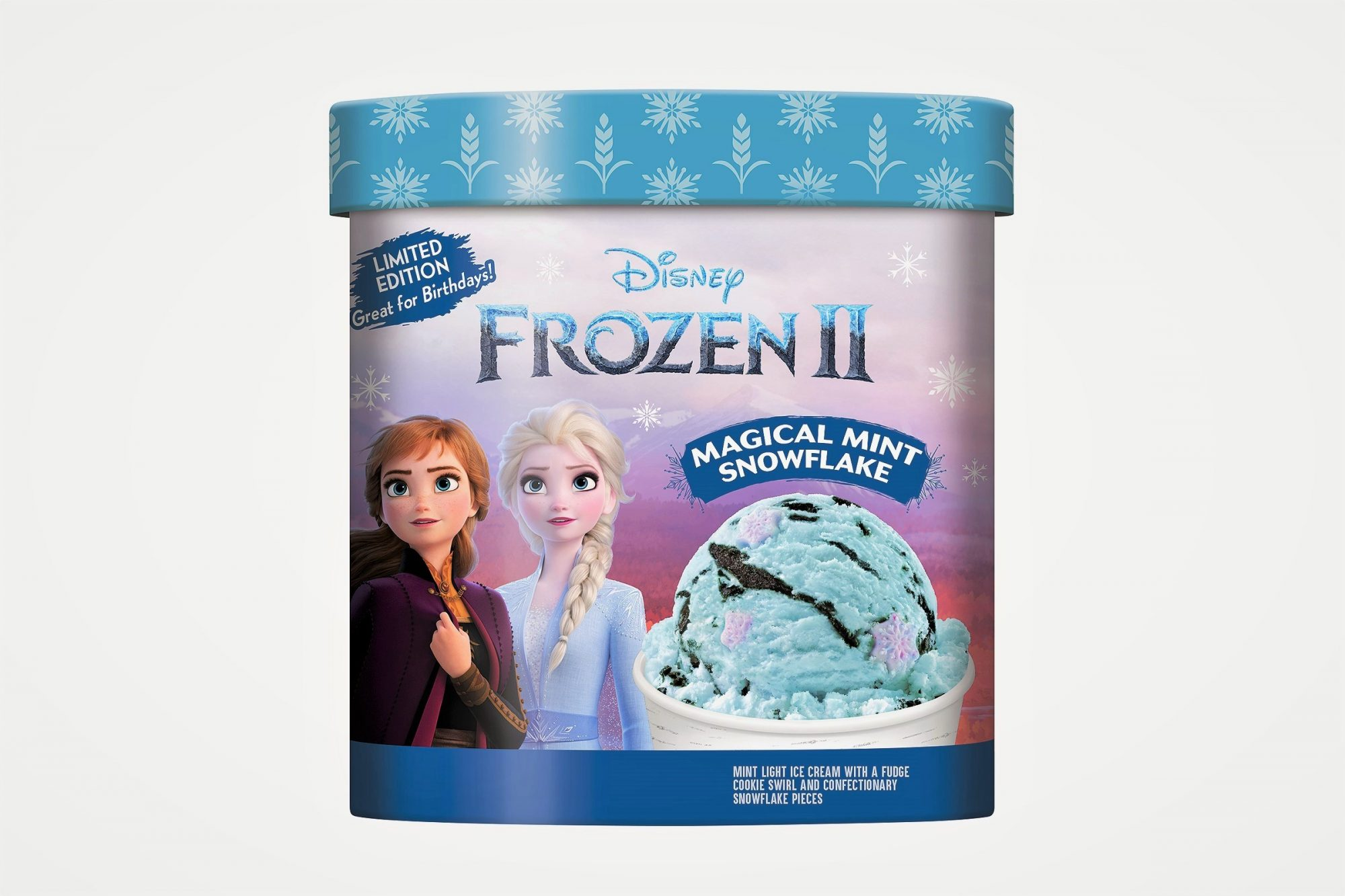 Frozen II Ice Cream Magical Mint Snowflake