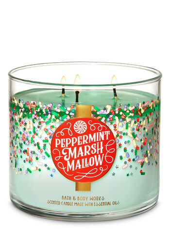 Bath & Body Works 3-wick Candle Peppermint Marshmallow