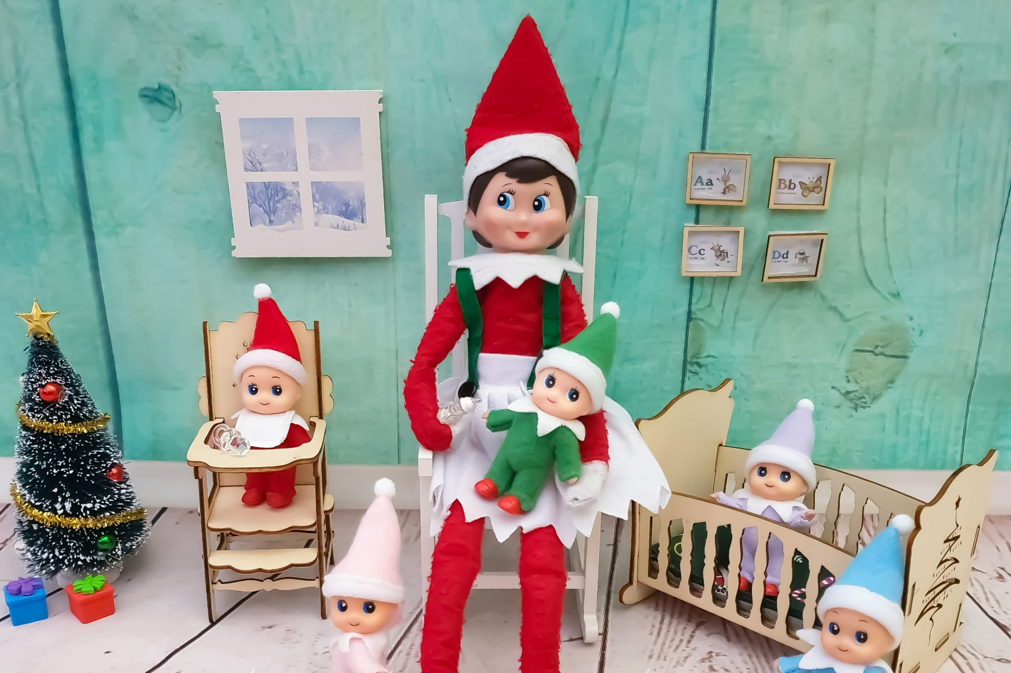 Elf on a Shelf and babies