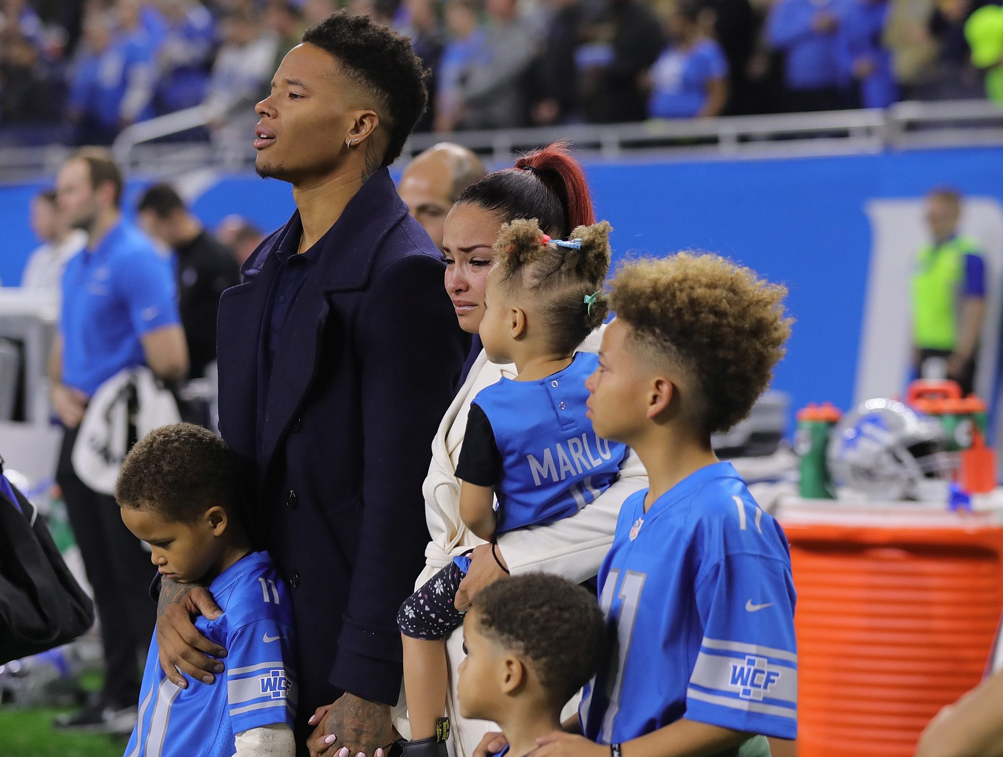 Marvin Jones and Family