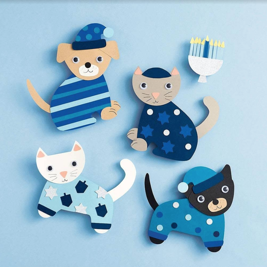 Paper Source Hanukkah Dogs and Cats Kit