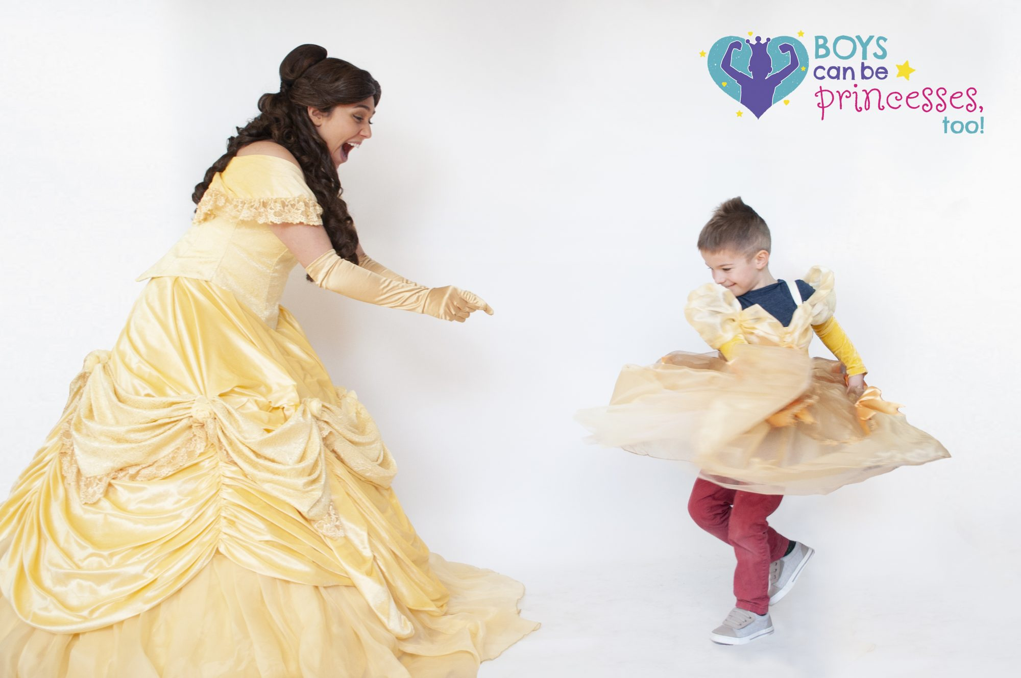 Boys Can Be Princesses Too Everett and Belle