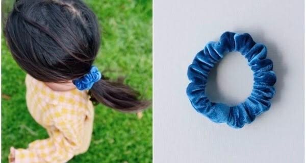 waterproof scrunchie