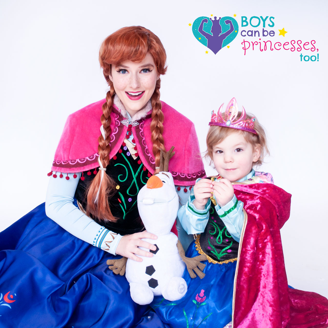 Boys Can Be Princesses Too James and Anna