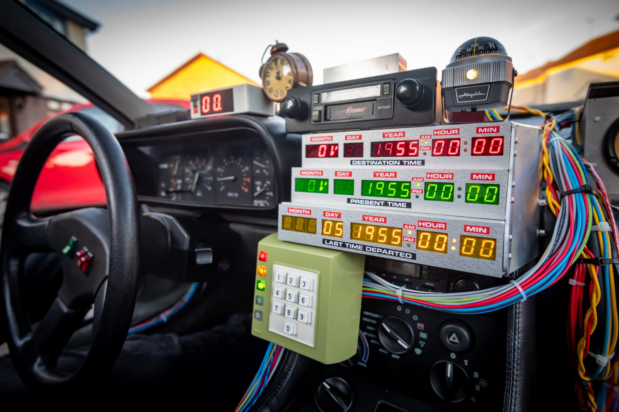 BTTF car time circuits