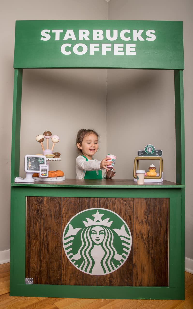 See This 3-Year-Old's Playroom — Including a Tiny Target and Starbucks! — That Has Gone Viral
