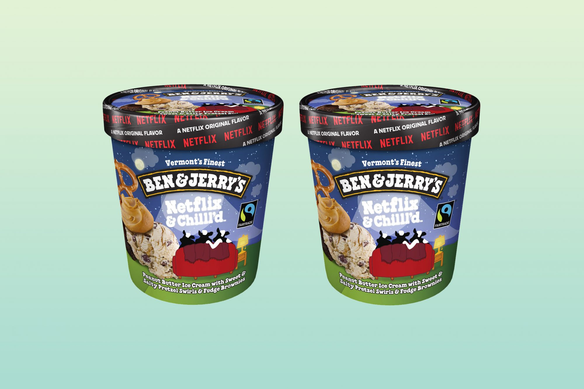 Ben and Jerry's Netflix and Chill'd Ice Cream Pints