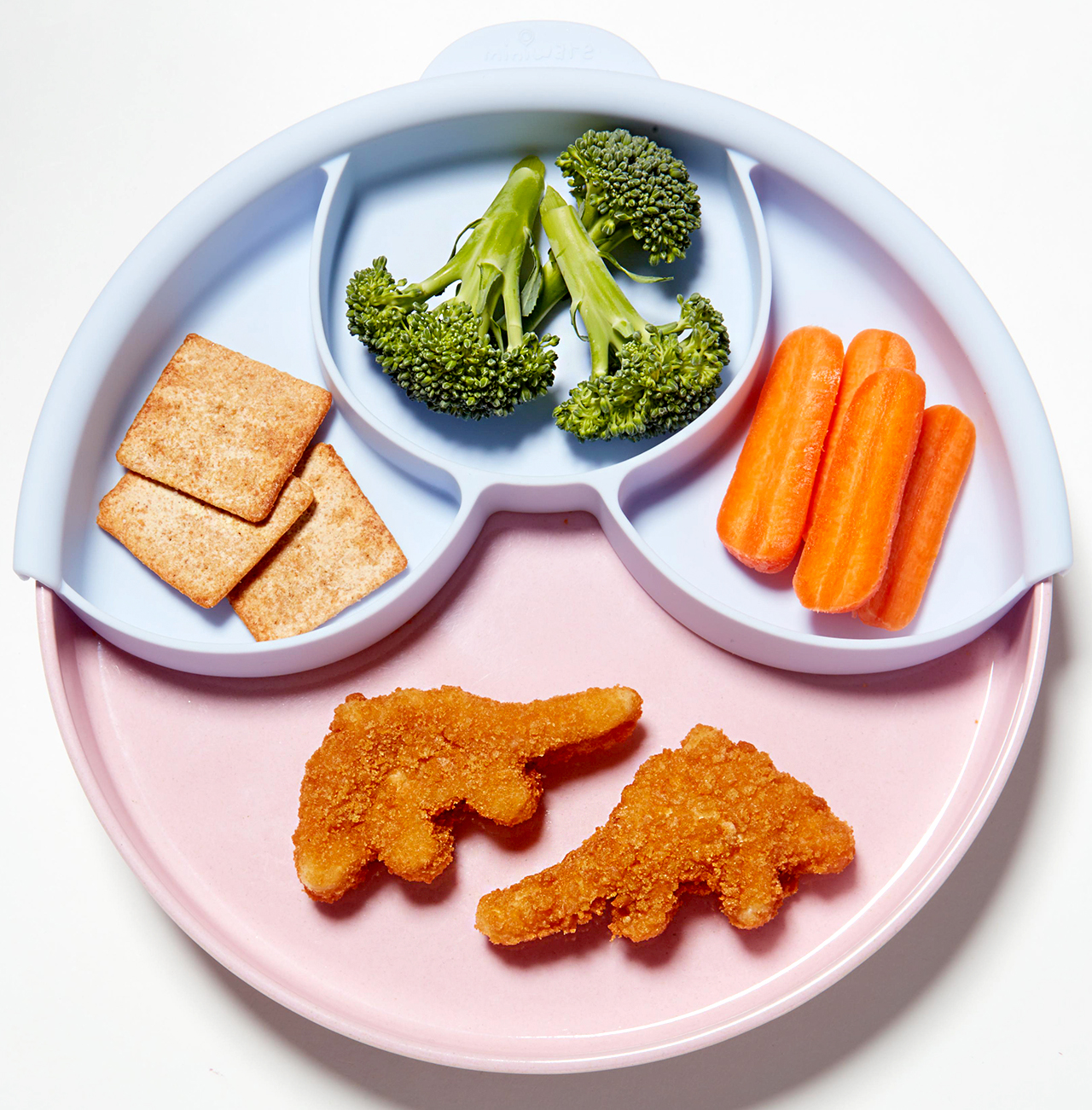 Child's plate of food