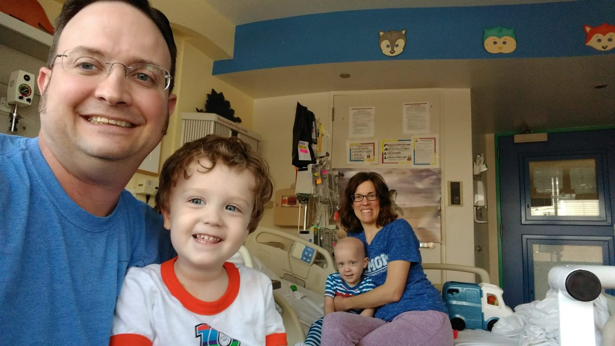 Joel Decker and Seth Decker — twin brothers who died 18 months apart of the same cancer