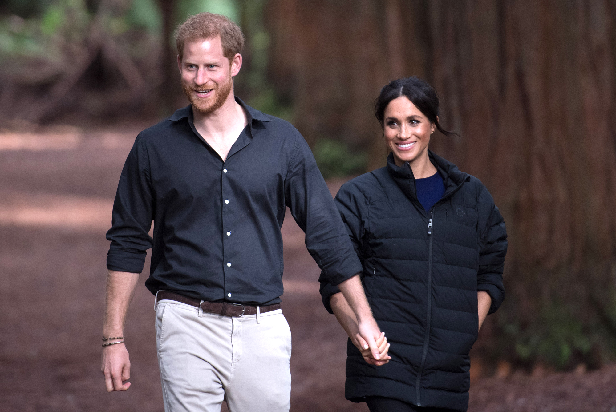 Prince Harry and Meghan Duchess of Sussex tour of New Zealand - 31 Oct 2018