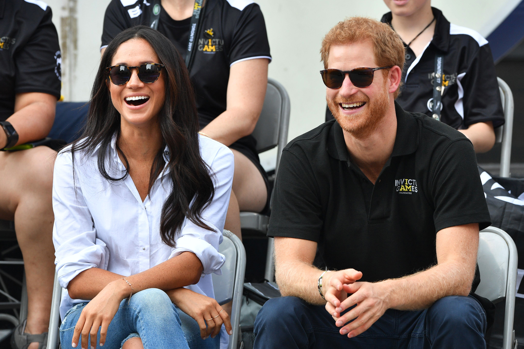 2017 Meghan Markle and Prince Harry at the Invictus Games in Toronto