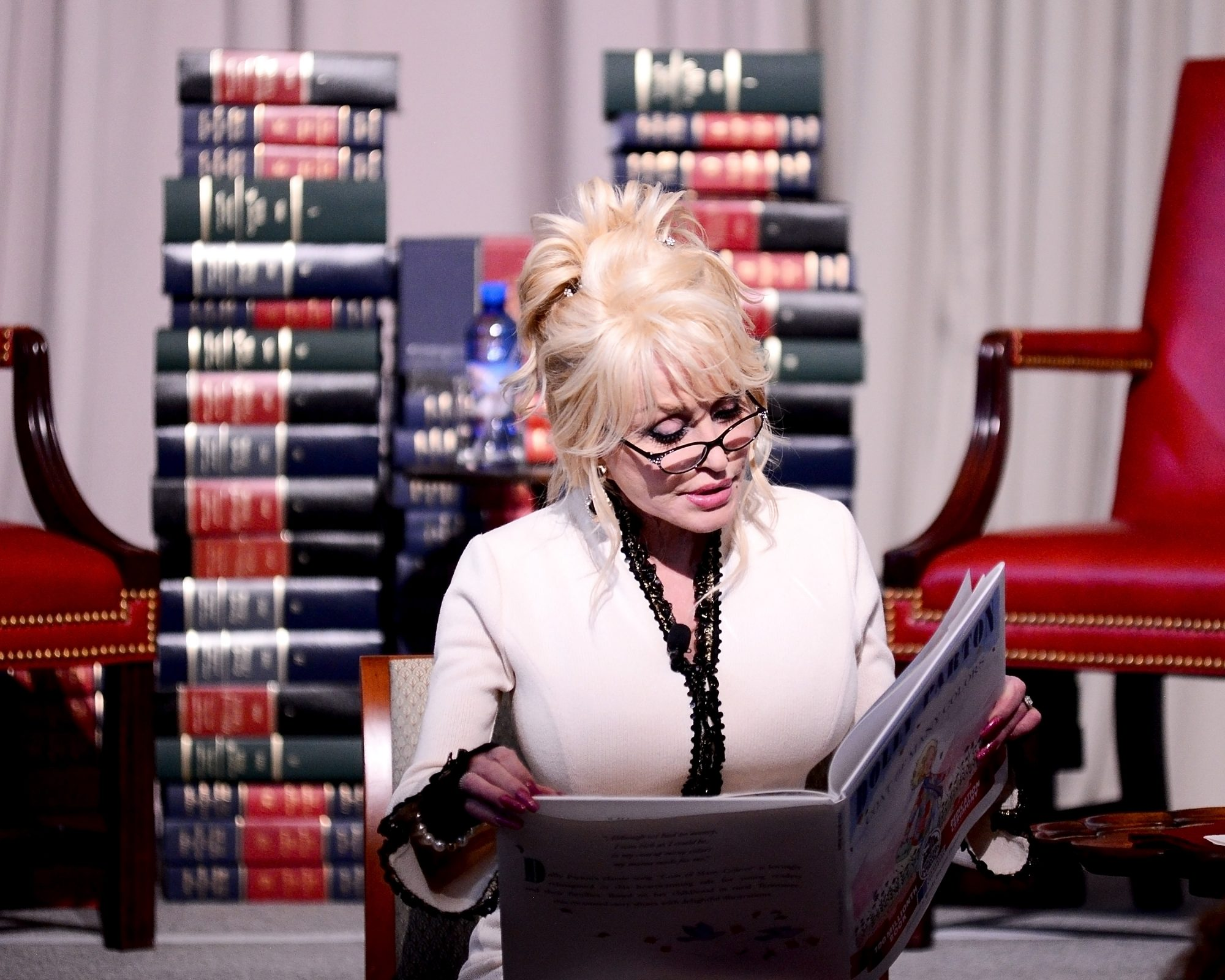 Dolly Parton Reading