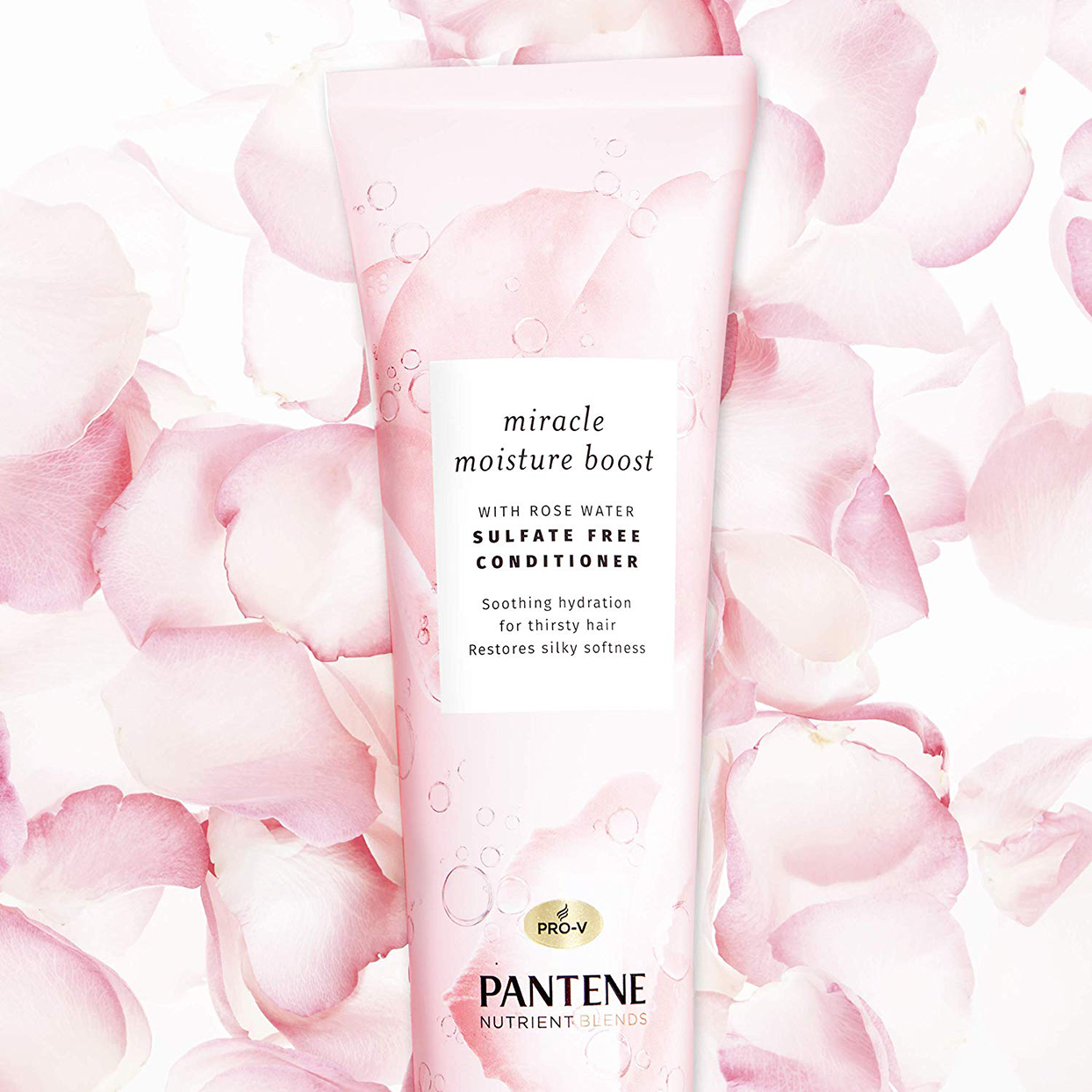 Pantene Miracle Moisture Boost Conditioner With Rose Water