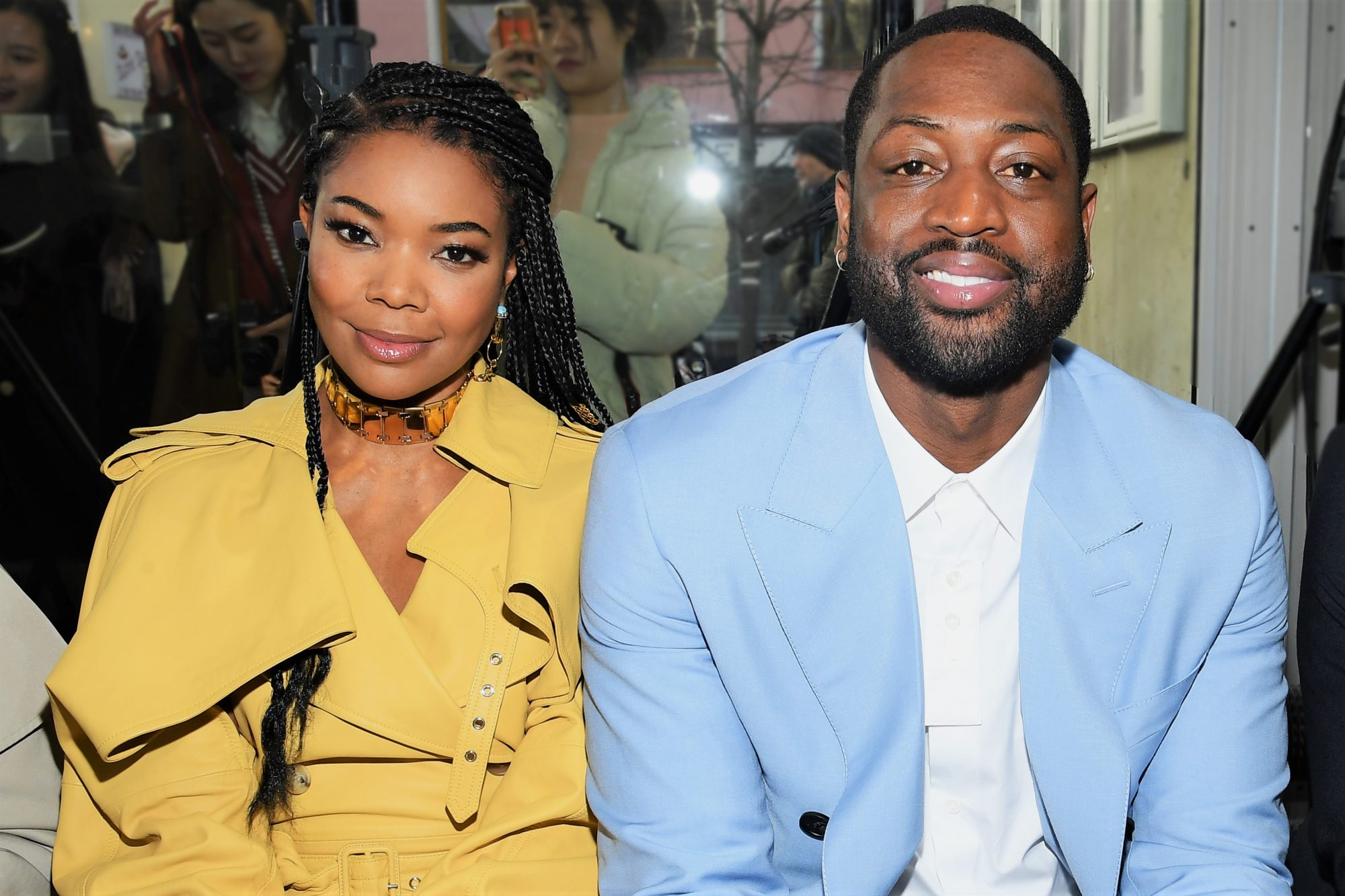 Gabrielle Union and Dwyane Wade 2020