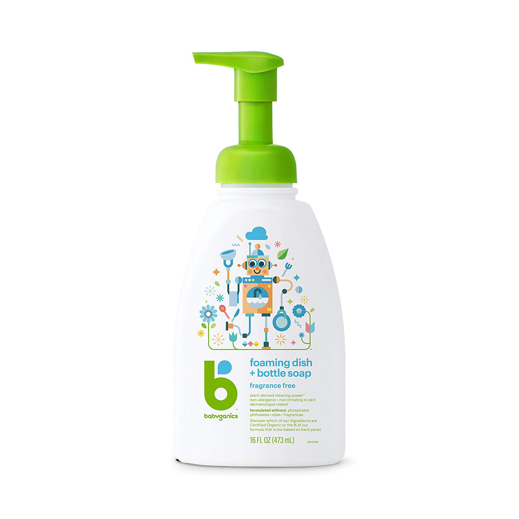 Babyganics Foaming Dish + Bottle Soap