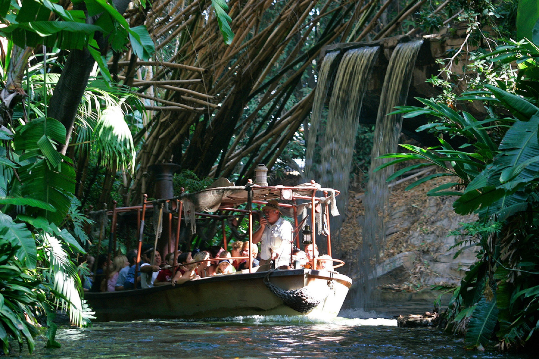 Disney World Jungle Cruise Boat