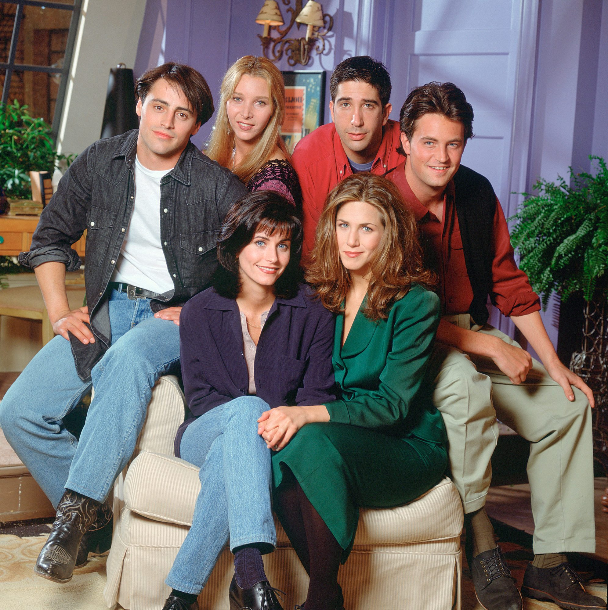 Friends cast HBO